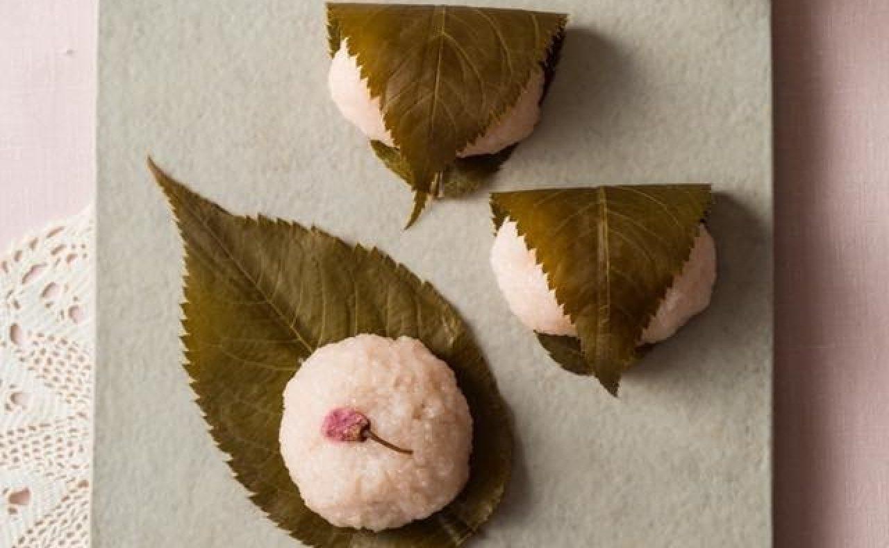 【レシピ】ハーブコーディアルの桜餅
