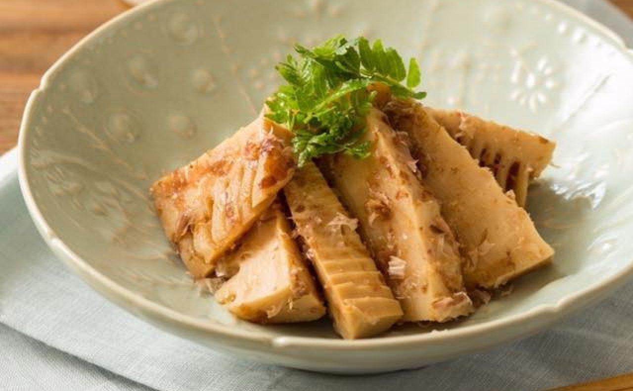 【レシピ】アカシアハニーのたけのこの土佐煮