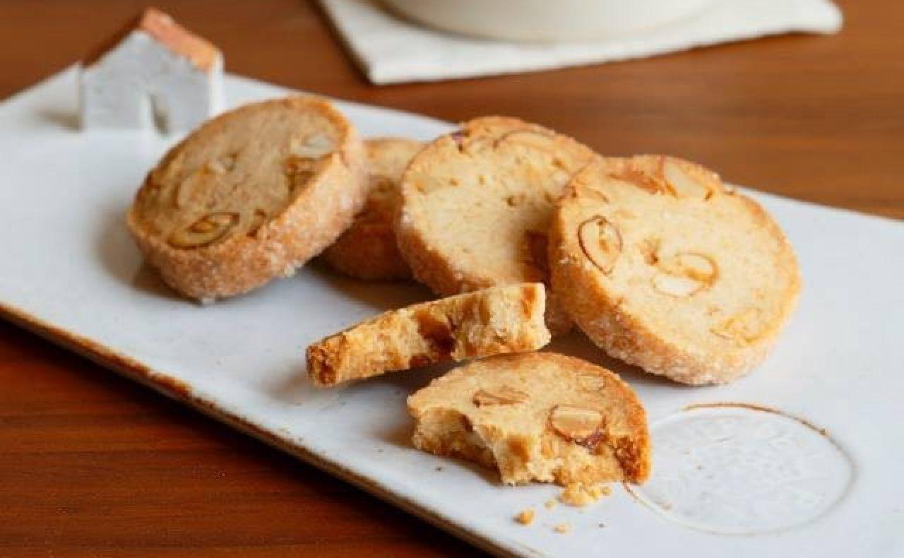 【レシピ】はちみつナッツクッキー